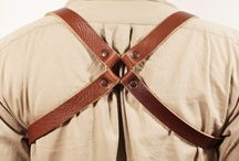 CARRY   ACC. / Things made with leather or waxed canvas. / by ] \ [
