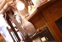vintage decor / Detalles recuperados o inspirados en el pasado