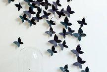 Borboletas / As borboletas são motivos de inspiração .....