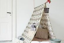 tepees / tepees, for playing and decor