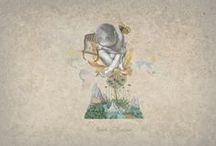 Orfeo / Illustrazioni Collage