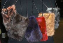 Accessories / Fur hats, scarves, headbands, purses...to finish the outfit. www.klugerfurs.com