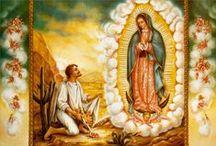 la Virgen de Guadalupe / by Renee Pepper