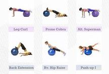 Workout / Fitness exercises that keep you in great shape.