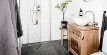 Salle de bains / Des idées déco pour la salle de bains !
