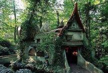Домики / Little houses, big houses, cute houses