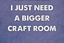 Craft Storage & Office Space
