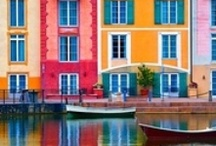 pantone colorful travel