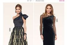 Christmas party dress patterns / Here are our top picks for the festive season. Something for everyone from flirty through to formal, vintage and plus size. We've got a great range of fabrics too come and have a look around...ho ho ho...