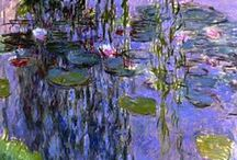 The Impressionists / I love the impressionist painters...especially Claude Monet. I adore his water lilies. / by Cindy White-Rubia