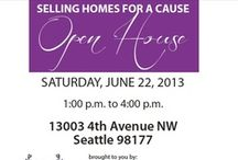 """Sell Your Home and Support A Cause"" Event On June 22, 2013 at 13003 4th Ave NW, Broadview WA 98177 / We will be helping a seller get top dollar for their home by hosting a fundraising event for the Lupus Foundation of America Pacific NW Chapter. Event will be held at 1 pm to 4 pm on June 22, 2013."