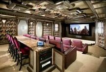 Home Cinema Ideas / Collection of great and cool home cinema theatre designs
