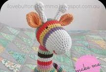 Haken / crochet: Amigurumi en aanverwanten / (cadeau) ideeën voor amigurumi en e.d.