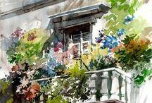 Watercolor / Artworks www.rysunek.net