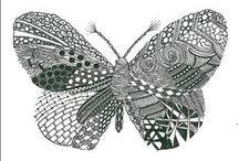 Craft Zentangle & doodling & drawing