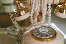 Antique Phones / A #throwback to older, more classic styles of telephones. #Antique #Classic #Vintage