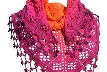 Haken: accesoires / Tassen, sjaals, omslagdoeken, e.d.