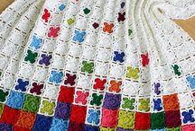 Croching knitting and tatting / Hekling og strikking