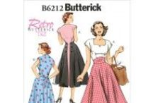 Vintage inspired sewing patterns / We stock the full range of all the big brand sewing patterns: Butterick, Vogue, McCalls, Burda, Kwik Sew, New Look and Simplicity. Here are some of our favourite va va voom vintage numbers! Many more on our site!