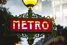 Métro de Paris  / by Grégoire Thonnat