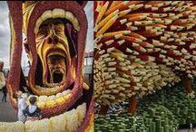 Human Masks, Body Parts. Body Paint. Bodypainting. Masquerade masks.Carnival Big heads. paper mache. / Face masks, body parts, arty cadavers. Masquerade masks for men, women. Make up, bodypaint, body painting, wonderful weirdness. Big head carnival paper mache heads, portrait masks, mascot heads. Halloween horror.