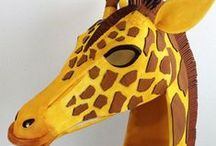 Beautiful Beasts / Animal photos, masks and costumes. Birds and beasts, lions and tigers and bears, oh my!