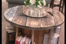 Home Decor & Organization- Upcycling! / Create a beautiful home environment with used items!