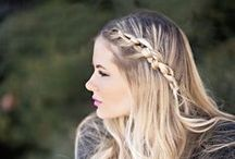 Hair styles / Interesting and cute hairstyles