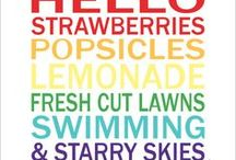 Summertime Goodies! / Tips and goodies to help jump start your summer