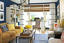 Her Yellow Rooms & Decor / Yellow fills us with joy and light. Yellow furniture and decorative items can bring a room to life and give it a cheer that is second to none. Enjoy these yellow furniture and decor ideas.Need help with your room project? I can help. http://carmendarwin.com Carmen Darwin