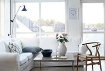 Her White Rooms & Decor / White furniture and decor is widely used in most homes because it is always fresh and classy. It is also safe for people who may be scared to use colour as it is hard to get it wrong. Here are some lovely furnishing and styling ideas in white.Need help with your room project? I can help. http://www.carmendarwin.com Carmen Darwin