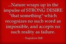 Napoleon Hill Quotes / Quotes of Napoleon Hill http://2asuccessdreamblog.com?t=p