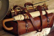 Leather / Handmade leather goods.  Кожа, кожаные изделия.