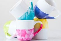 Weekend Crafting // Creative Living / Creative ideas for stylish DIY gifts and crafting projects.