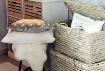 Her Storage Containers / Great ideas for storing items beautifully. Storage ideas for your home.