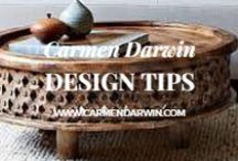 Her Design Tips / A collection of my best design tips and those from Pinterest and the web. I'm all about helping you to create a home that you are proud of. Renovation Courses | Design Tours | Online Store htttp://carmendarwin.com