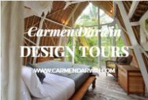 Her Design Tours / Join me on my design and lifestyle tours in 2016 &2017 to Italy,Bali and Spain. I have created design and lifestyle tours for women who love interior design and creativity mixed in with a super-fun travel lifestyle. http://www.carmendarwin.com/design-tours