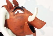 Pumba Pumbaa, Lion King Jr Costumes, Masks. / Pumba costume ideas, the Lion King Jr Musical. Kids costume ideas. Pumbaa, Timon, Scar, Simba, Rafiki, Nala, Zazu,Mufasa, Banzai, theatre costumes and masks.