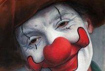 Claun. Clown.