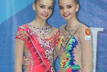 Сёстры Аверины. Dina and Arina