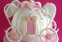 Princess Cakes / Princess themed cakes never go out of fashion! Here we've rounded up a few of our favourites to give you design inspiration. Many items to recreate these ideas can be found in our online shop here http://www.sweetsuccess.uk.com/Home.asp