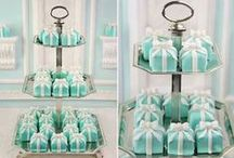 Tiffany Cakes / Tiffany themed cakes are great for engagement parties and special birthdays alike! Many items to recreate these ideas can be found in our online shop here http://www.sweetsuccess.uk.com/Home.asp
