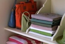 Closet Organizing Ideas / Sharing the genius of others: Major Mom Approved closet organizing ideas