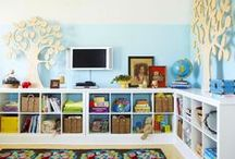Organizing Kid's STUFF / Sharing the genius of others: Major Mom Approved ideas for kids