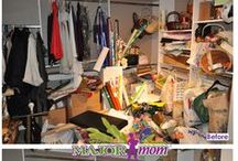 What Does Major Mom Do? / The question is, what does Major Mom not do? No task is too big or too small for the Major Mom Troop! We organize every room in the house, including offices and small businesses.
