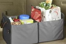 Car Trunk and Cargo Storage / Cargo and trunk organizers, totes, seat packs and duffles for all car styles and sizes.