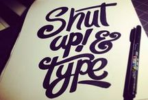 Type & Quotes / by Boubidou
