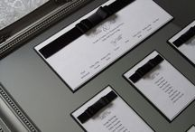 Wedding Table Plans / A selection of Table / Seating Plans from elegant ornate framed plans to simple A3 printed plans.