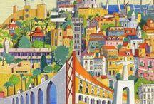 Lisbonne illustrée