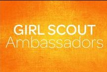 Girl Scout Ambassadors / Girl Scout Ambassadors are girls in 11th-12th grade. Under the guidance of a trained adult advisor, girls mix and match activities and resources to suit their needs while giving back to their communities. They connect with each other and build self-esteem and confidence in their skills as they work on a range of projects and gain life experiences.